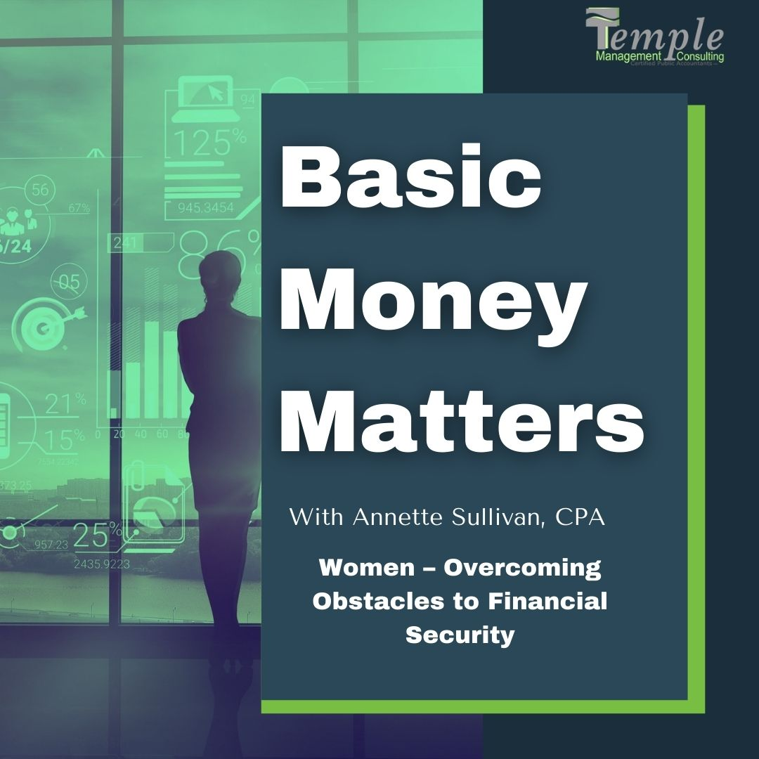 Women – Overcoming Obstacles to Financial Security