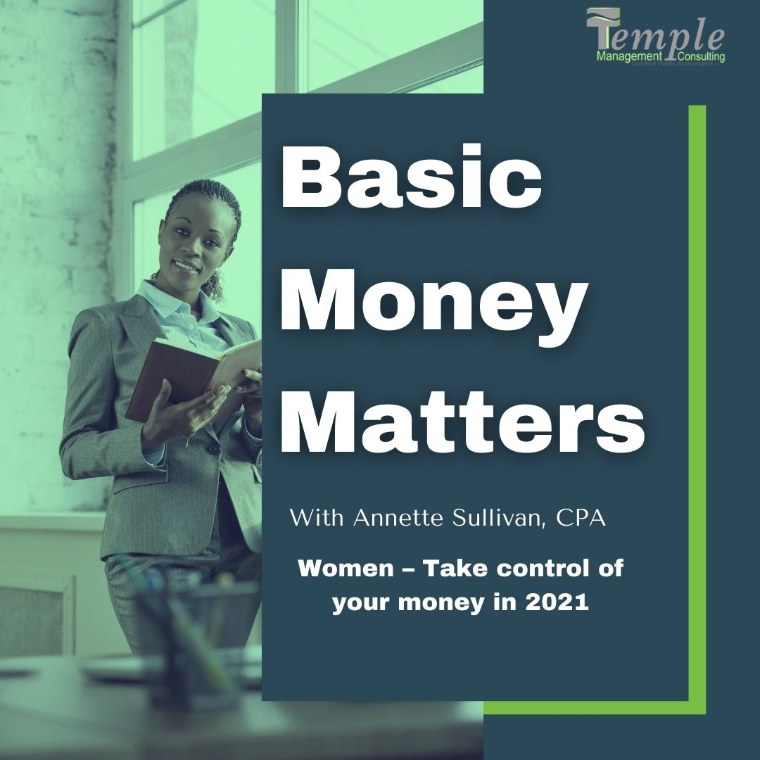Women – Take control of your money in 2021