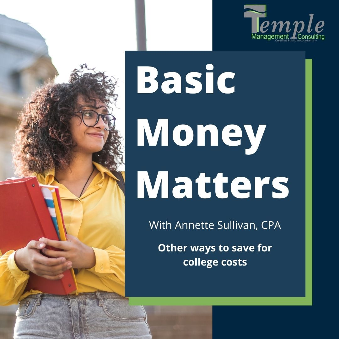 Other ways to save for college costs