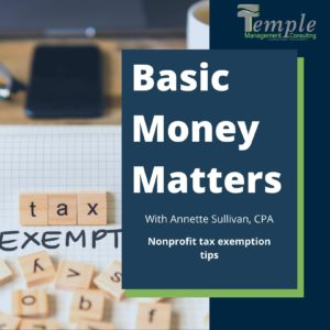Nonprofit Tax Exemption Tips