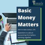 Basic Money Matters