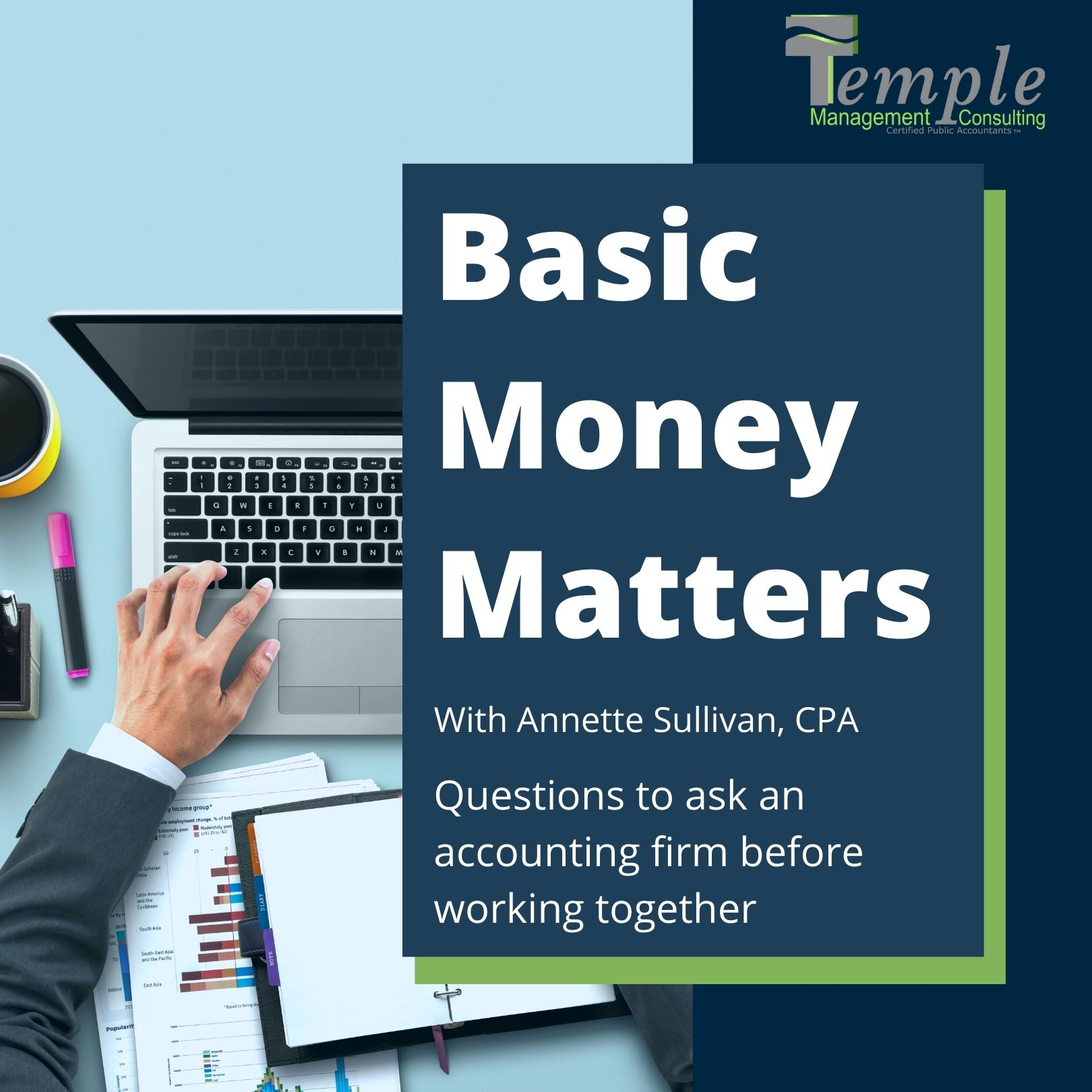 Questions to ask an Accounting Firm before working together.